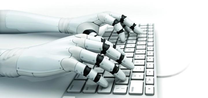robot que escribe libros
